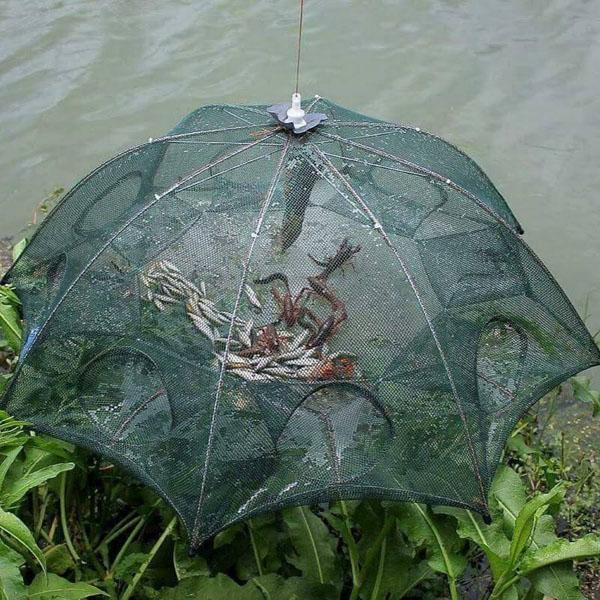 Lưới bát quái bắt cá loại 8 lỗ