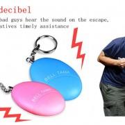 Móc khóa báo động bảo vệ bản thân