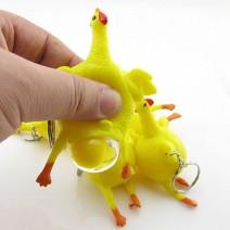 Bán buôn móc khóa gà đẻ trứng
