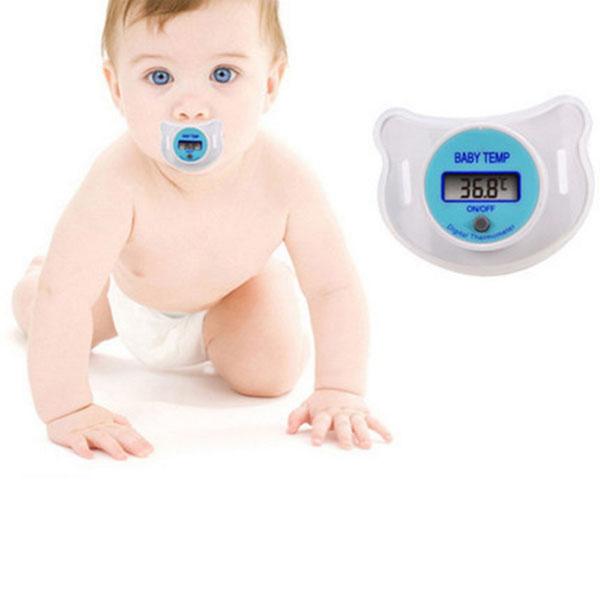 Nhiệt kế núm vú cho bé Baby Temp