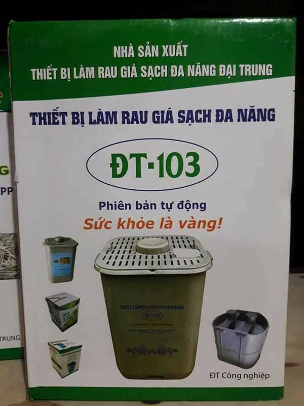 Thiết bị làm rau giá sạch đa năng ĐT-103 - Phiên bản tự động