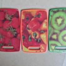 Thớt nhựa 2 mặt hình hoa quả