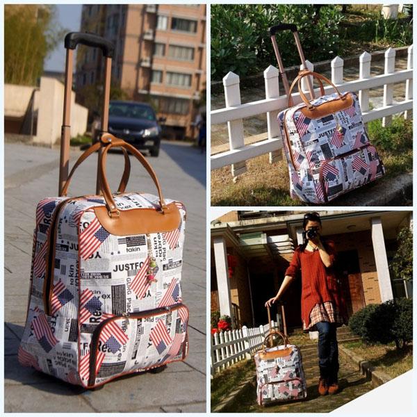 Túi kéo du lịch cao cấp không thấm nước