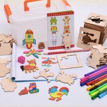 Bán sỉ bộ khung tập vẽ và tô màu cho bé