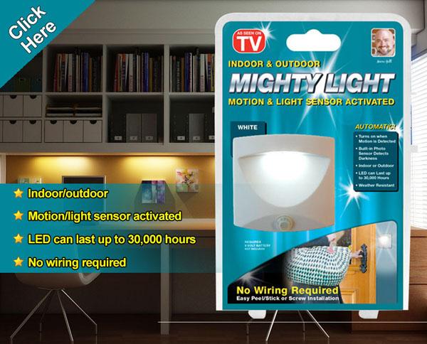 Đèn led cảm ứng thông minh Mighty Light