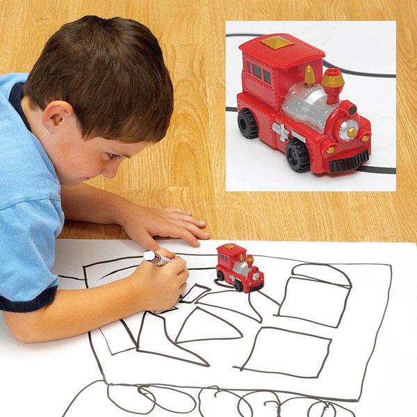 Đồ chơi ô tô cảm ứng chạy theo nét vẽ