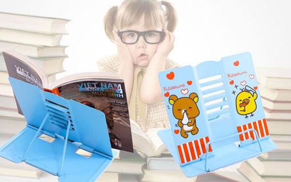 Giá kẹp đọc sách chống cận thị cho bé