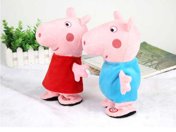 Heo bông Peppa pig biết hát cho bé