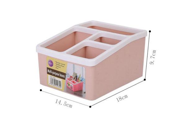 Bán buôn hộp nhựa đựng đồ đa năng 4 ngăn