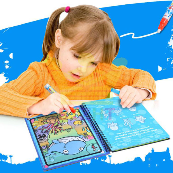 Sách tô màu thần kỳ tự xóa cho bé