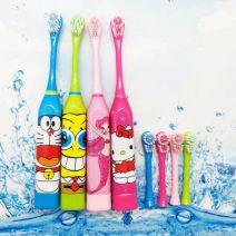 Bàn chải đánh răng tự động cho bé