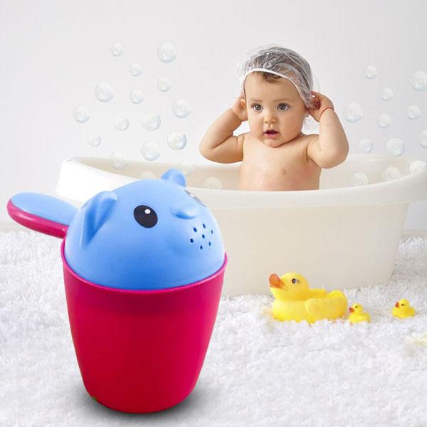 Ca tắm hình gấu cho bé