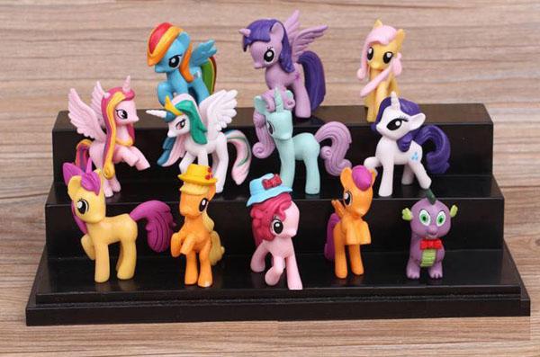 Đồ chơi ngựa Pony thiên thần ( Set 12 con )
