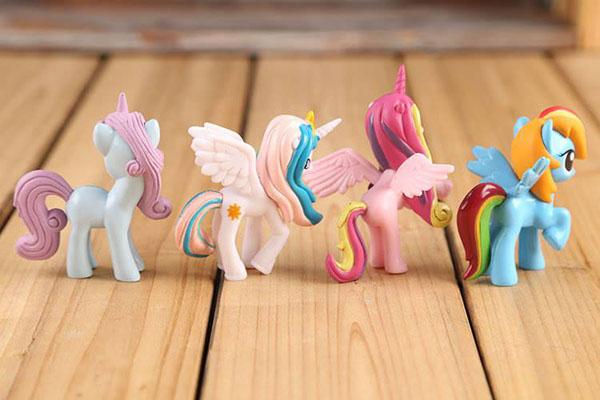 Bán sỉ đồ chơi ngựa Pony thiên thần ( Set 12 con )