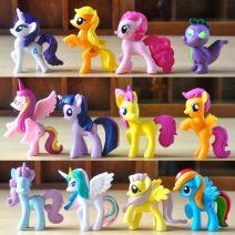 Bán buôn đồ chơi ngựa Pony thiên thần ( Set 12 con )