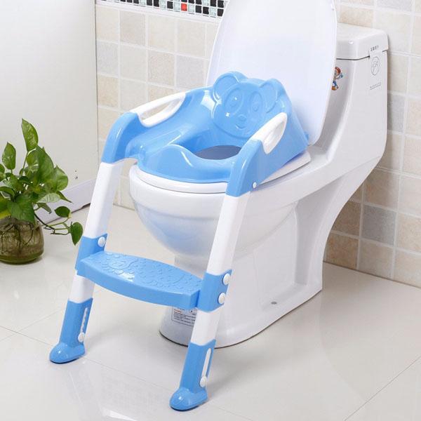 Ghế thang tập ngồi Toilet cho bé