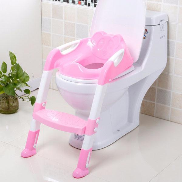 Bán buôn ghế thang tập ngồi Toilet cho bé