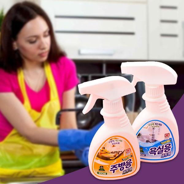 Chai xịt tẩy rửa đa năng Hàn Quốc 300ml
