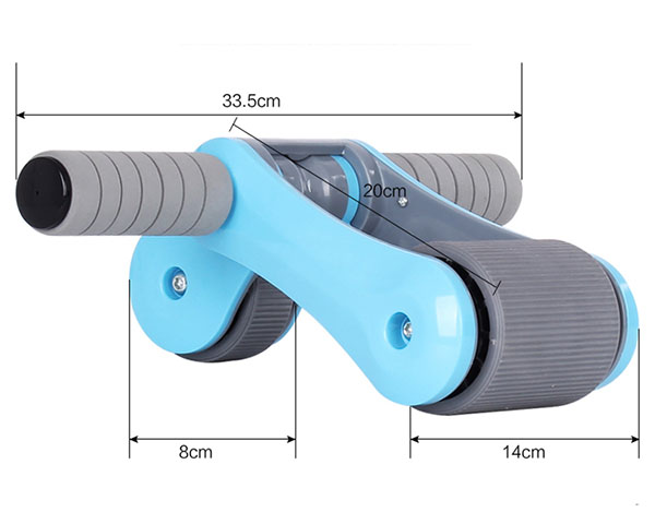 Bán buôn bánh xe tập cơ bụng Gym Roller thế hệ mới