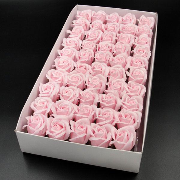 Bán buôn hoa hồng sáp hộp 50 bông sang trọng