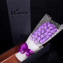 Hoa hồng sáp thơm 33 bông siêu đẹp