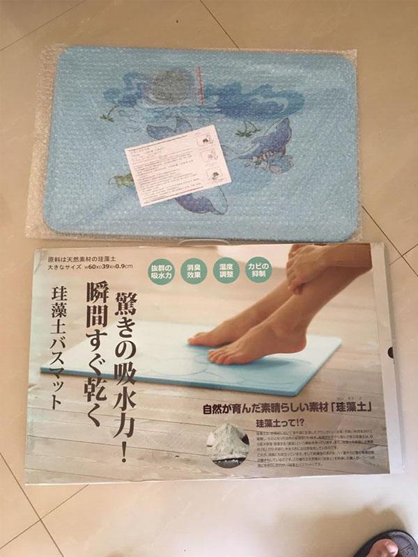 Thảm cứng siêu thấm Nhật Bản 3D cao cấp