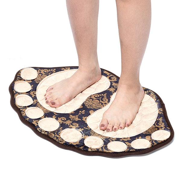 Thảm lau chân 3d họa tiết hình bàn chân