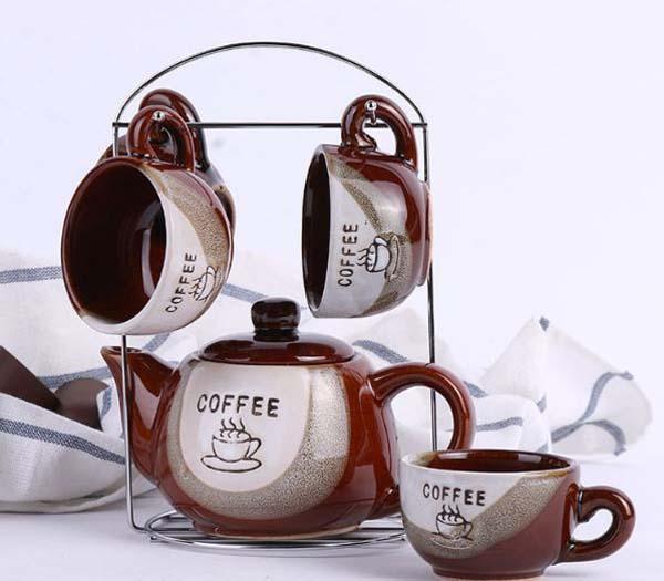 Bộ ấm chén treo Coffee Set độc đáo