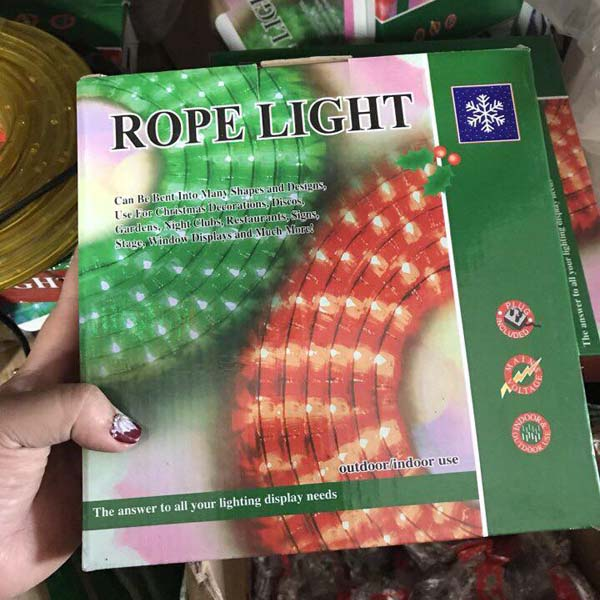 Dây đèn led trang trí Rope Light 10m
