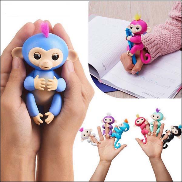 Bán buôn đồ chơi tương tác khỉ ngón tay Finger Monkey Toys