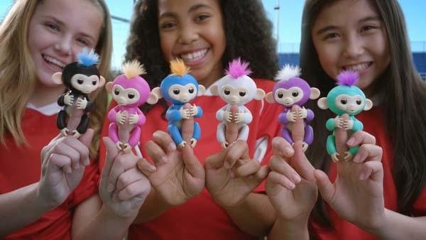 Đồ chơi tương tác khỉ ngón tay Finger Monkey Toys