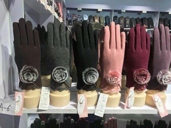 Găng tay cảm ứng lót nỉ đẹp cho mùa đông