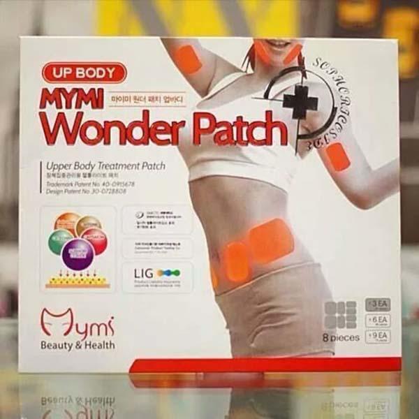 Bán buôn miếng dán tan mỡ bắp tay ,eo Up Body Mymi Wonder Patch