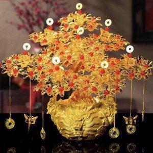 Cây tài lộc , cây thần tài trưng tết