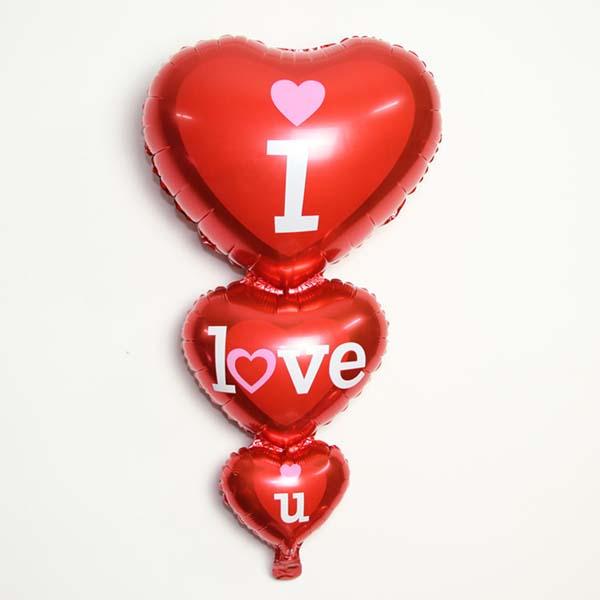 Bán sỉ dây bóng hình trái tim trang trí đẹp