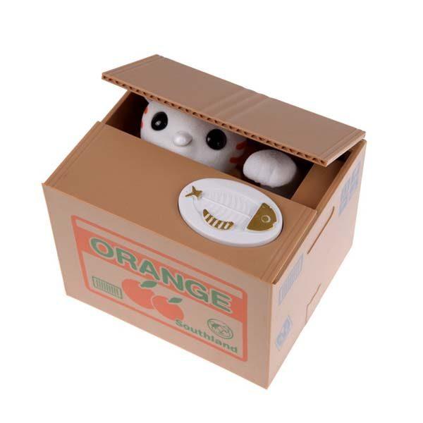 Bán sỉ đồ chơi hộp tiết kiệm mèo trộm xu