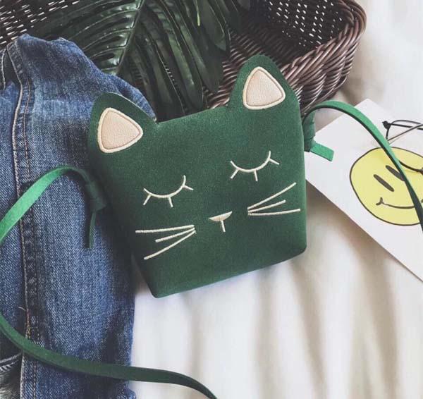 Bán buôn túi đeo chéo hình mèo cho bé nhận lì xì