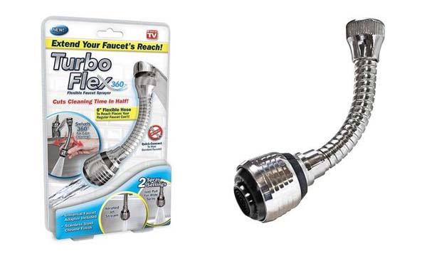 Bán buôn vòi xịt tăng áp xoay 360 độ Turbo Flex