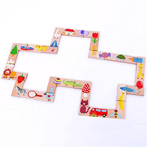 Bán buôn bộ đồ chơi Domino 28 chi tiết cho bé