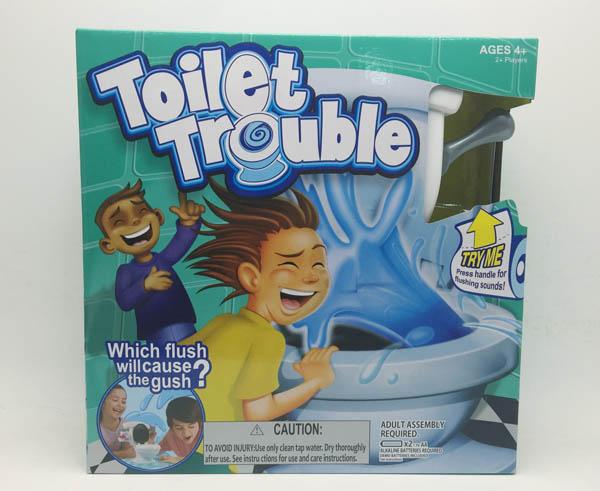Trò chơi bồn cầu rắc rối Toilet Trouble