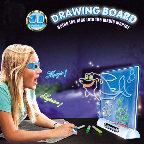 Bộ tranh vẽ 3d ma thuật cho bé