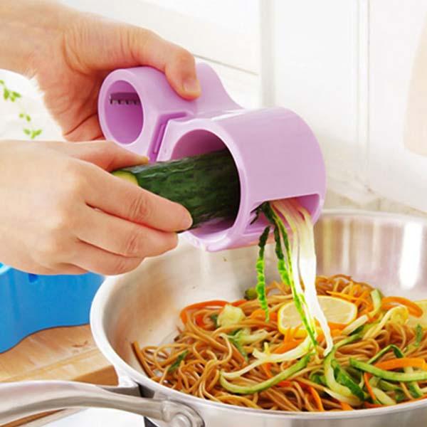 Dụng cụ bào sợi rau củ kèm mài dao tiện dụng