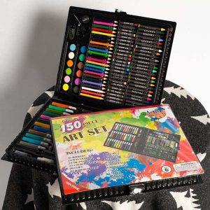 Bán buôn hộp bút màu 150 chi tiết cho bé