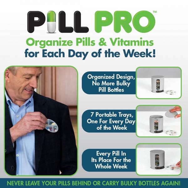 Hộp chia thuốc thông minh Pill Pro