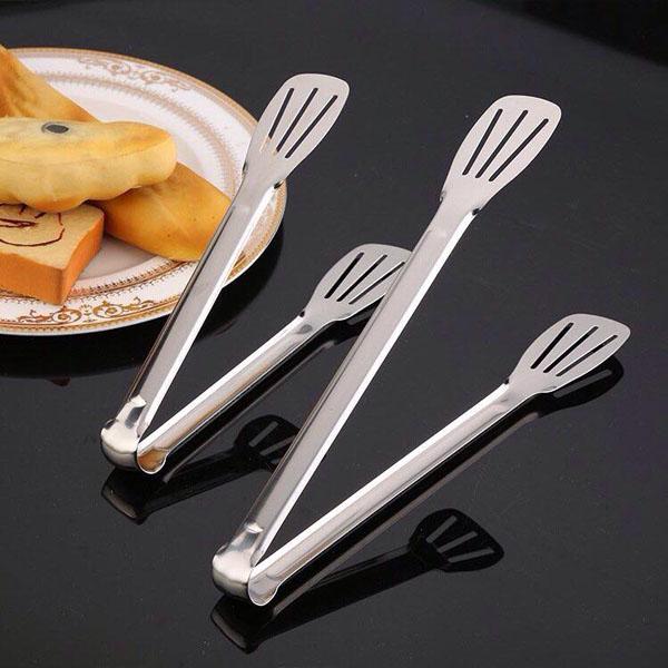 Kẹp gắp thức ăn bằng inox tiện dụng