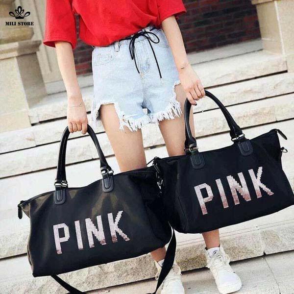 Bán sỉ túi xách du lịch Pink giá rẻ