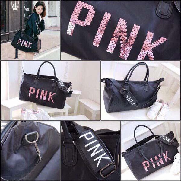 Túi xách du lịch Pink giá rẻ