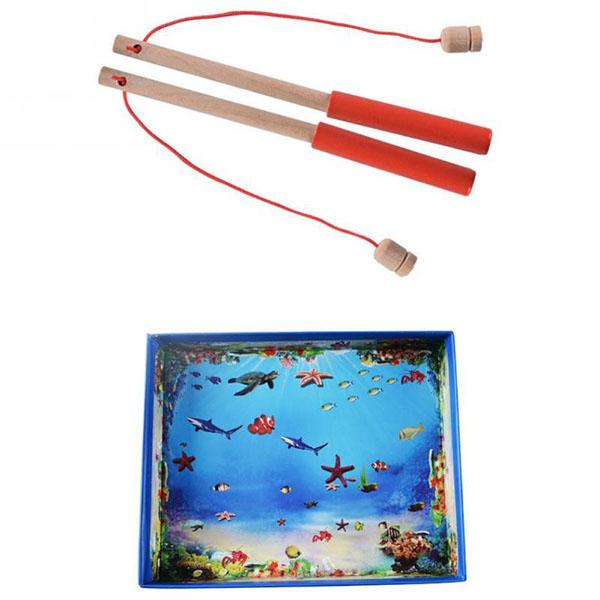 Bán sỉ đồ chơi câu cá nam châm gỗ cho bé