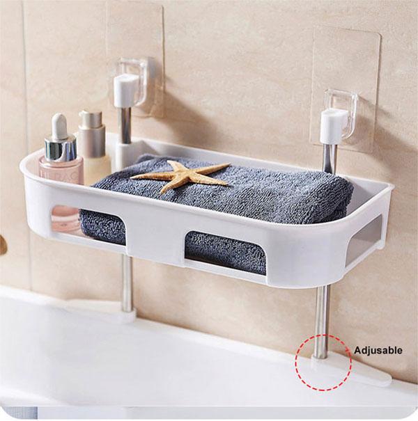 Bán sỉ kệ để đồ nhà tắm hút chân không 1 tầng