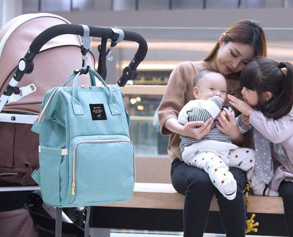 Bán buôn balo bỉm sữa đa năng cho mẹ và bé
